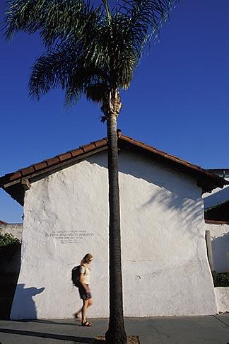 image 9-576-48 California, Santa Barbara, El Presidio de Santa Barbara, State Hist Park