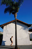 person stock photography | California, Santa Barbara, El Presidio de Santa Barbara, State Hist. Park, image id 9-576-48