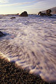 sunlight stock photography | California, Big Sur, Kirk Creek Campground beach, Lucia, image id 9-609-50