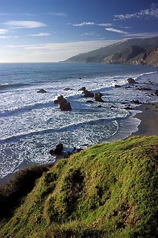 image 9-609-54 California, Big Sur, Coastline, Kirk Creek, Lucia