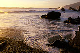 spray stock photography | California, Big Sur, Sunset, Kirk Creek, Lucia, image id 9-609-60