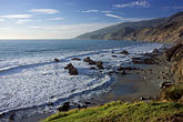 wave stock photography | California, Big Sur, Kirk Creek Campground beach, Lucia , image id 9-609-71