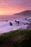 wave stock photography | California, Big Sur, Sunset, Kirk Creek, Lucia, image id 9-609-84