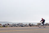waterfront stock photography | California, Berkeley, Bicyclist, image id S5-144-1283