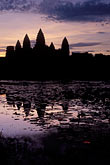 reflection stock photography | Cambodia, Angkor Wat, Dawn at Angkor Wat, image id 0-400-10