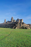 dawn stock photography | Cambodia, Angkor Wat, Main temple, image id 0-400-24