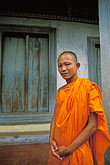 portrait stock photography | Cambodia, Angkor Wat, Buddhist monk, image id 0-400-78