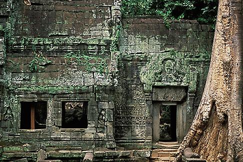 image 0-401-21 Cambodia, Angkor Wat, Ta Prohm