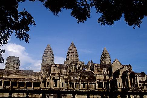 image 0-402-18 Cambodia, Angkor Wat, Main Temple