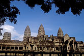 dawn stock photography | Cambodia, Angkor Wat, Main Temple, image id 0-402-18