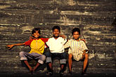 three teenagers stock photography | Cambodia, Angkor Wat, Young boys, image id 0-402-23