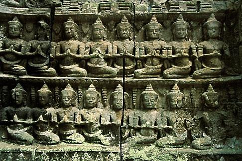 image S3-205-11 Cambodia, Siem Reap, Ta Prohm