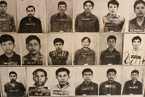 image S3-205-13 Cambodia, Phnom Penh, Tuol Sleng Genocide Museum