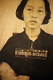 one person stock photography | Cambodia, Phnom Penh, Tuol Sleng Genocide Museum, image id S3-205-14