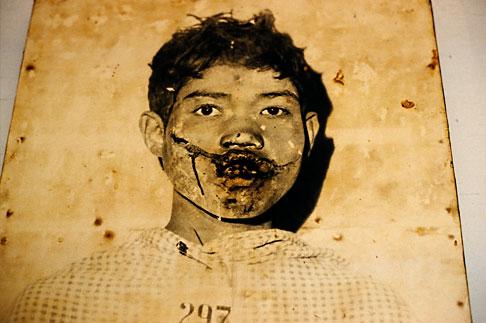image S3-205-15 Cambodia, Phnom Penh, Tuol Sleng Genocide Museum
