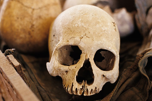 image S3-205-20 Cambodia, Phnom Penh, Tuol Sleng Genocide Museum