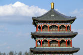 red stock photography | China, Ur�mqi, Pavilion, Red Hill, Hongshan Park, image id 4-143-22