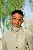 one mature man stock photography | China, Turpan, Uighur man, image id 4-147-24