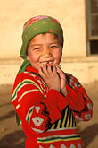 covered head stock photography | China, Turpan, Uighur girl, image id 4-155-21