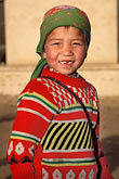smile stock photography | China, Turpan, Uighur girl, image id 4-155-23