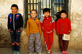 four children stock photography | China, Turpan, Uighur school children, image id 4-155-34