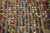 crowd stock photography | China, UrŸmqi, Schoolyard exercises, image id 4-165-3