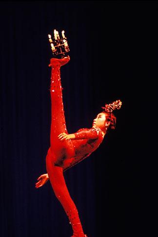 image 4-337-65 China, Beijing, Peking Acrobatic Theater