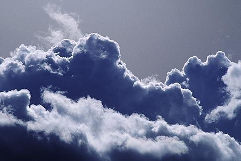 image 2-49-21 Clouds, Sunlight on cumulonimbus clouds
