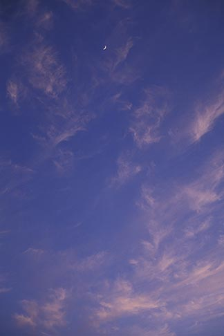 image 8-199-101 Clouds, Cirrus clouds