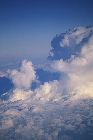 image 9-13-100 Clouds, Cumulus clouds