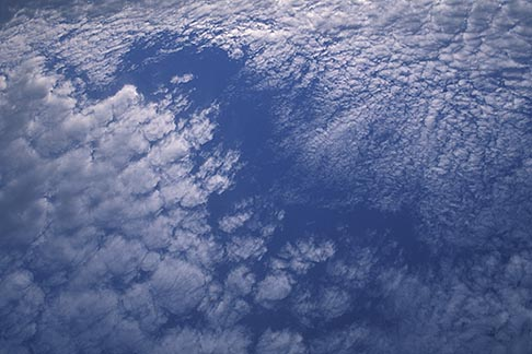 image 9-13-101 Clouds, Altocirrus clouds