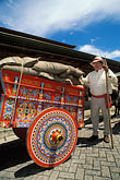 decorated oxcart stock photography | Costa Rica, San Jose, Pueblo Antiguo, oxcart, image id 8-451-13