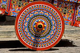 folk art stock photography | Costa Rica, San Jose, Decorated oxcart, image id 8-460-18