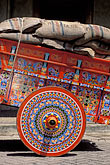 colour stock photography | Costa Rica, San Jose, Decorated oxcart, image id 8-460-20