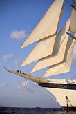 caribbean stock photography | Cruises, Clipper Ships, Royal Clipper at full sail, image id 3-600-34