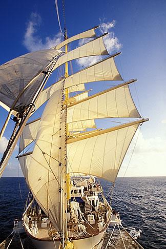 image 3-621-3 Cruises, Clipper Ships, Royal Clipper at full sail