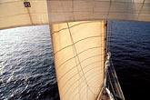 sea stock photography | Cruises, Clipper Ships, View from the foremast, Star Flyer, image id 7-503-3