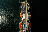 luxury stock photography | Cruises, Clipper Ships, View from atop the mast, Star Flyer, image id 7-545-21