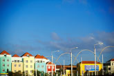 colorful building stock photography | Curaao, Willemstad, Otrobanda waterfront, image id 3-431-7