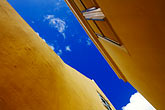yellow stock photography | Cura�ao, Willemstad, Kur� Hulanda, rooftops, image id 3-431-90