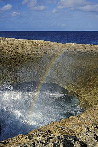 image 3-432-58 Curacao, Watamula natural bridge, Noordpunt North Point