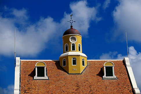 image 3-433-27 Curacao, Willemstad, Fort Church, 1796, Oldest church in Curacao