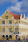 sunlight stock photography | Cura�ao, Willemstad, Punda, Historic District, Colonial Building, 1708, image id 3-436-12