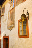 sunlight stock photography | Czech Republic, Cesky Krumlov, Historic house, image id 4-960-1090