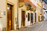 doorway stock photography | Czech Republic, Cesky Krumlov, Street scene, image id 4-960-1091