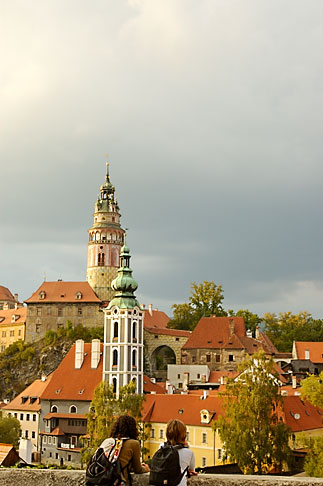 image 4-960-1113 Czech Republic, Cesky Krumlov, Cesky Krumlov Castle and town