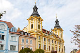 facade stock photography | Czech Republic, Pisek, Town hall, Radnice, image id 4-960-1122