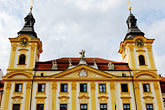 facade stock photography | Czech Republic, Pisek, Town hall, Radnice, image id 4-960-1124
