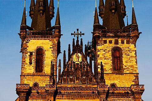image 4-960-123 Czech Republic, Prague, Tyn Cathedral