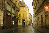 wet stock photography | Czech Republic, Prague, Street scene, image id 4-960-1448